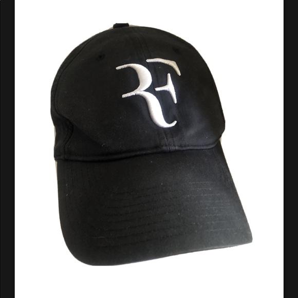 Nike Roger Federer Black Hat OSFA Legacy91